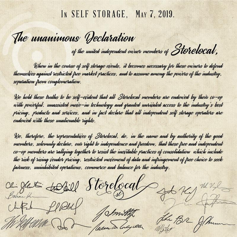 storelocal-declaration